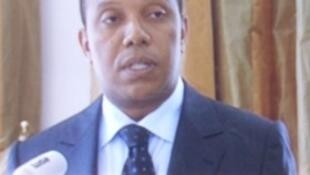 Patrice Trovoada, presidente da ADI e primeiro-ministro de São Tomé e Príncipe