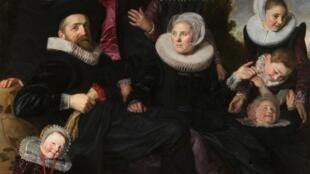 Франс Хальс. Семья Ван Кампен в пейзаже (фрагмент). 1623-1625. Холст, масло. Музей изящных искуусств Толедо (Огайо, США)