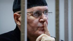 Оюб Титиев в суде города Шали в день вынесения приговора 18 марта 2019