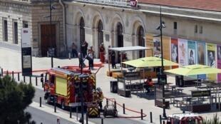 Вокзал Сен-Шарль в Марселе. 21 мая 2018 г.