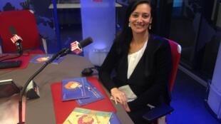 A jornalista e escritora Ivna Chedier Maluly