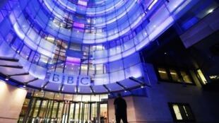 Sede da BBC em Londres.