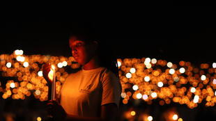 Commemorations on the 25th anniversary of the Rwandan genocide in Kigali, 7 April 2019.
