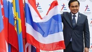 Ông Prayuth Chan-ocha, Thủ tướng Thái Lan, đến dự Thượng đỉnh Á-Âu ASEM tại Milano, Ý.