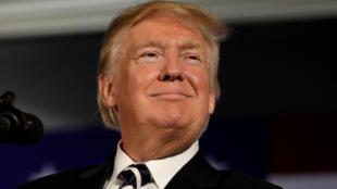 圖為美國總統特朗普  2018年9月5日