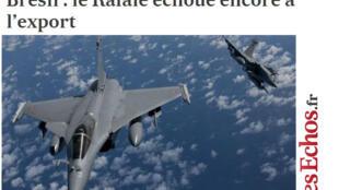 Artigo do jornal Les Echos desta quinta-feira, 19 de dezembro de 2013