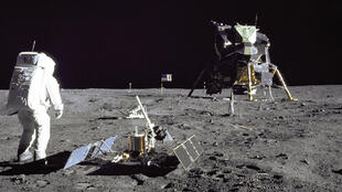 (Photo : Mission Apollo 11, 29 juillet 1969).