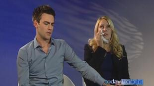 Radialistas Michael Christian e Mel Greig, responsáveis pela morte de enfermeira choraram durante entrevista para TV australiana.