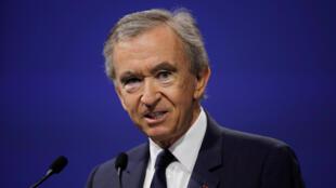 Bernard Arnault, CEO do grupo LVMH, é o homem mais rico da França e a quarta fortuna mundial, segundo a revista Forbes.