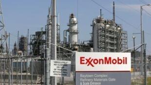Một cơ sở của tập đoàn dầu khí Exxon Mobil tại Texas, Hoa Kỳ