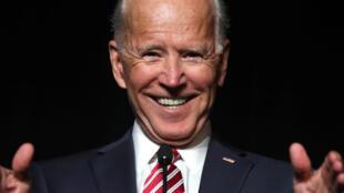O ex-vice-presidente americano Joe Biden, durante um encontro dos democratas em Dover, nos Estados Unidos