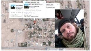 O jihadista neo-zelandês Mark John Taylor publica um selfie.