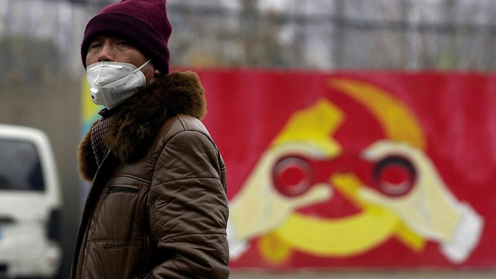 Bắc Kinh Trung Quốc giữa mùa dịch virus corona ngày 8/02/2020.