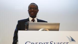 Tidjane Thiam est le président exécutif de la banque Crédit Suisse.