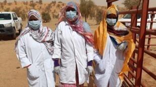 La brigade des femmes vaccinatrices de Bougamara.