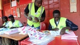 Contagem de votos na Guiné-Bissau