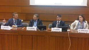 Representantes da OAB organizaram uma reunião em Genebra para divulgar a iniciativa de denúncia visando o governo brasileiro.
