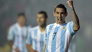 Angel Di Maria has arrived at PSG after one season in the English Premier League with Manchester United.