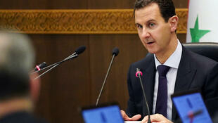 Tổng thống Syria Bachar el-Assad. Ảnh chụp tháng 5/2019 tại Damas.