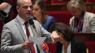 Министр образования Франции Жан-Мишель Бланкер