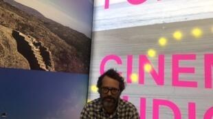 João Matos da produtora Terra Treme em Cannes a 15 de Maio de 2019
