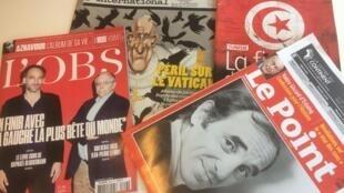 Capas dos semanários de 06/10/2018