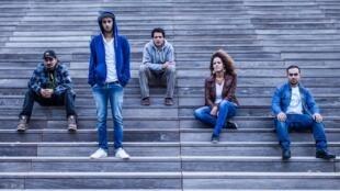 Tunisian dub band Haydar Hamdi