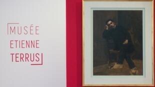 """Bảo tàng Etienne Terrus, thành phố Elne, miền nam Pháp, vừa phát hiện gần một nửa số tranh được trưng bày là """"hàng giả"""".."""