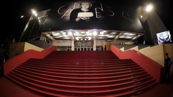 Красная ковровая лестница в Каннах – символ восхождения к славе, 21 мая 20122 года