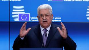 ប្រធានរដ្ឋអំណាចប៉ាឡេស្ទីន លោក Mahmoud Abbas
