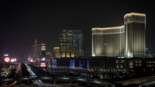 澳门特区赌场因新冠病毒疫情歇业两周后星期四重新开门。2020年2月20日