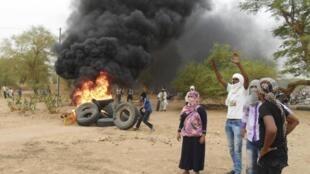 Tension in Kidal, Mali, on July 19, 2013
