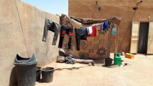 Ghetto où vivent des migrants Maliens à Agadez au Niger. (image d'illustration)