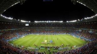 The Pernambuco stadium in Recife, Brazil