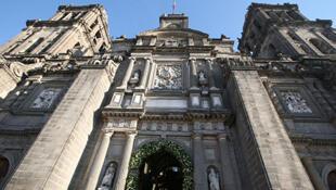La Catedral Metropolitana de México sufrió varios desperfectos tras el terremoto del 19 de septiembre de 2017.
