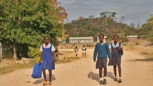 A primary school in Murambinda, in Manicaland, Zimbabwe