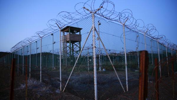 The Guantanamo Bay's Camp Delta in Cuba