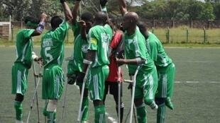 Nigeria National amputee football team 'Special Eagles'