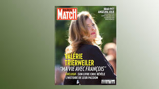 Capa da revista francesa Paris Match desta semana.
