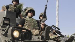 Patrouille de l'armée libanaise.
