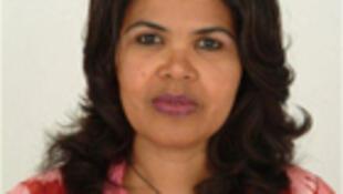 Sara Lopes, ex-ministra das Infra-estruturas e Economia Marítima