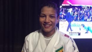 Sarah Menezes, judoca brasileira.