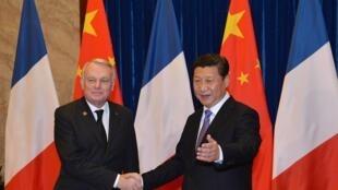 Pour Jean-Marc Ayrault, le projet franco-chinois d'EPR est la preuve du potentiel économique entre les deux pays.