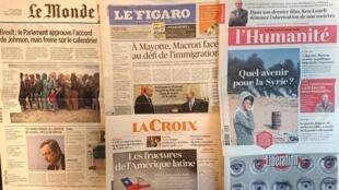 Revista de Imprensa francesa.