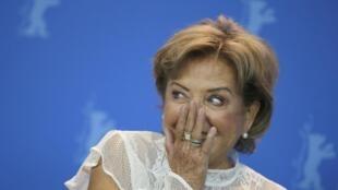 """La paraguaya Ana Brun en la presentación de """"Las herederas""""."""
