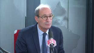 Éric Woerth sur RFI le 25 février 2020.