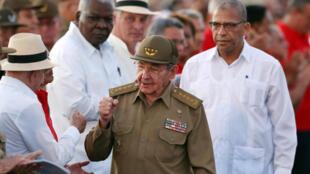 Ảnh minh họa : Chủ tịch Cuba Raoul Castro. Ảnh ngày 26/07/2017.
