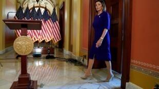 Spika wa Baraza la Congress la Marekani Nancy Pelosi.