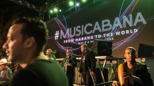 The Musicabana festival took place in Cuba from 5 to 8 May, 2016.