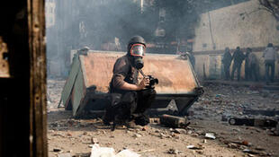 A photojournalist in Syria